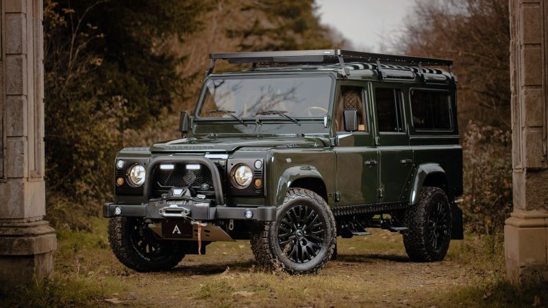 This Wild Land Rover Defender Restomod Will Carry The Rich Through