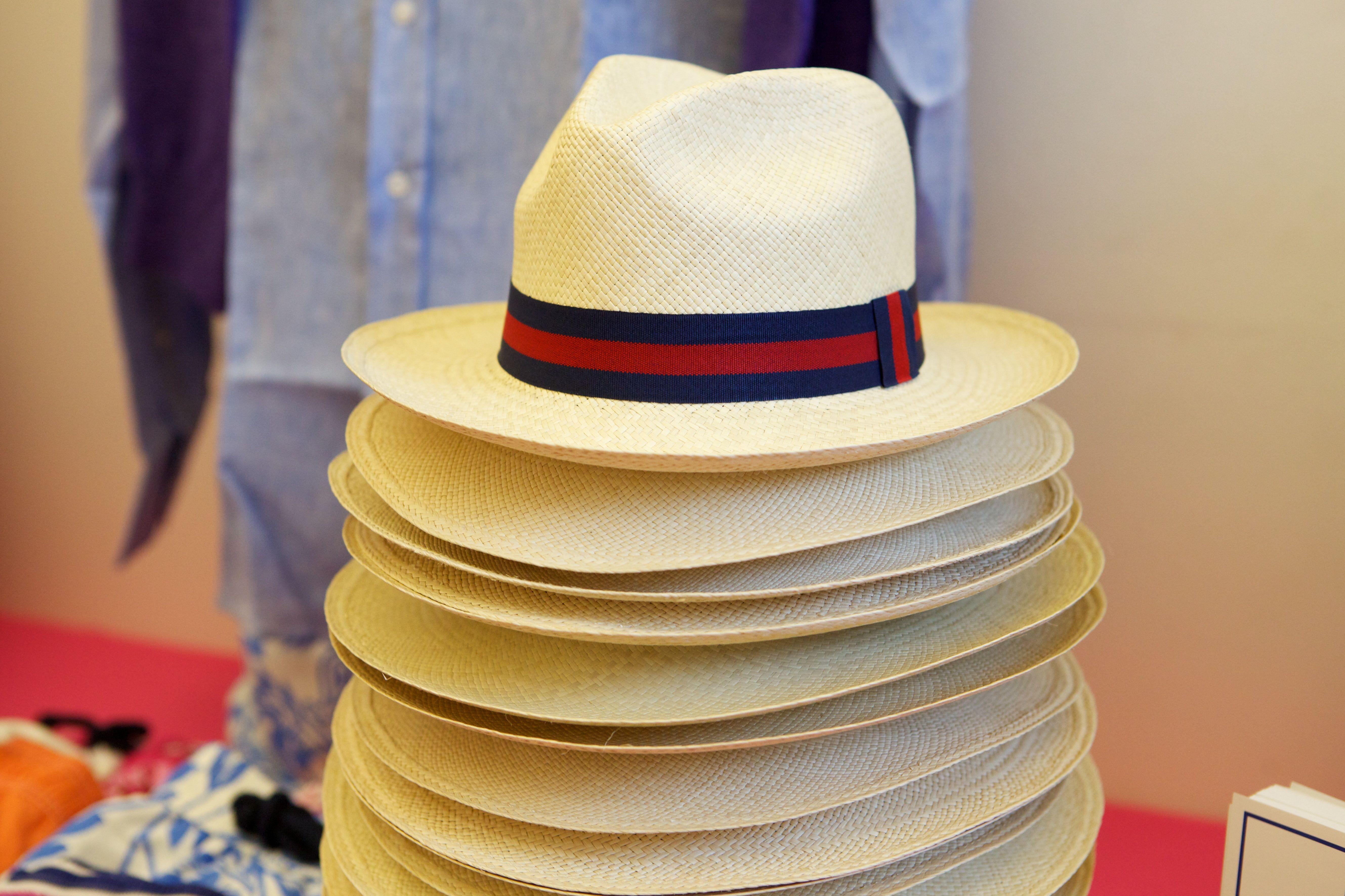Traditional Panama Hats from Ecuador