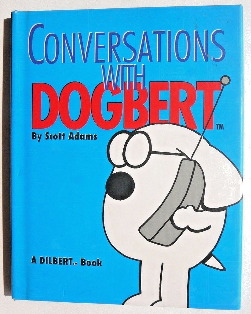Conversations with dogbert by scott adams 1996 hardcover new conversations with dogbert by scott adams 1996 hardcover new cartoons strip fandeluxe Image collections