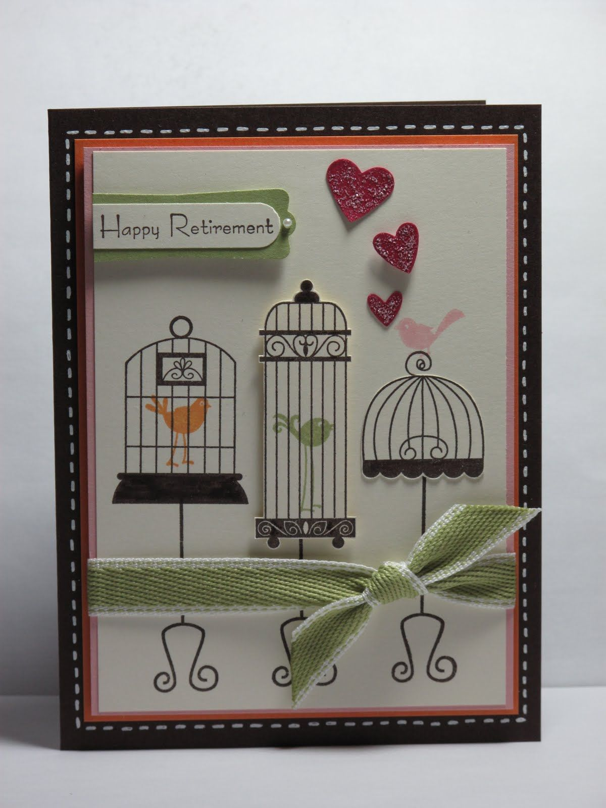 Bird Cage Card Craft Ideas Cards Homemade Cards Bird Houses