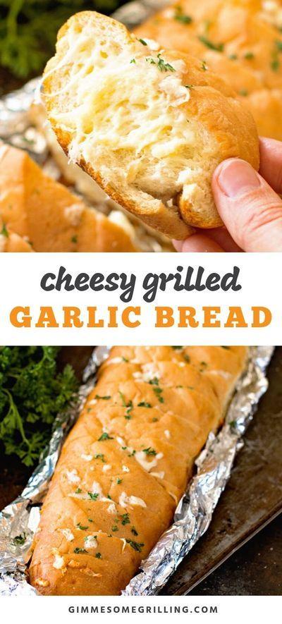 Cheesy Garlic Bread in 2020 | Baby food recipes, Cheesy ...