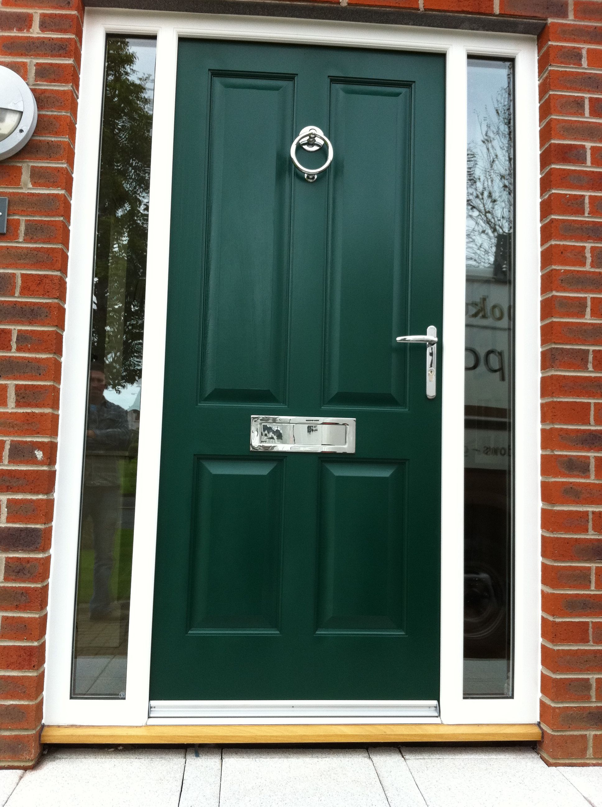 Painted four panel hardwood door and frame by Belfast Bespoke & Painted four panel hardwood door and frame by Belfast Bespoke ...