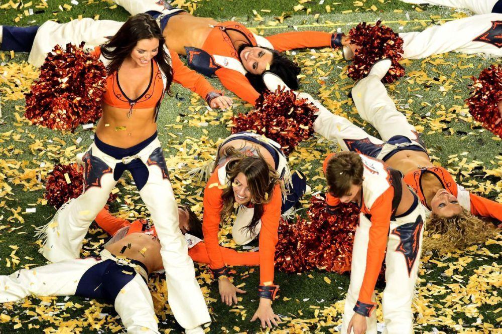 Super Bowl 50 cheerleaders Broncos cheerleaders, Denver