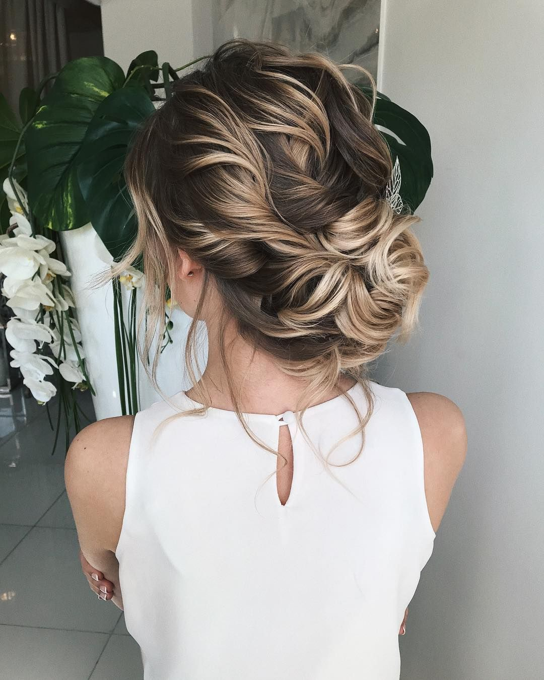Twisted Wedding Updos For Medium Length Hair Wedding Updos Updo