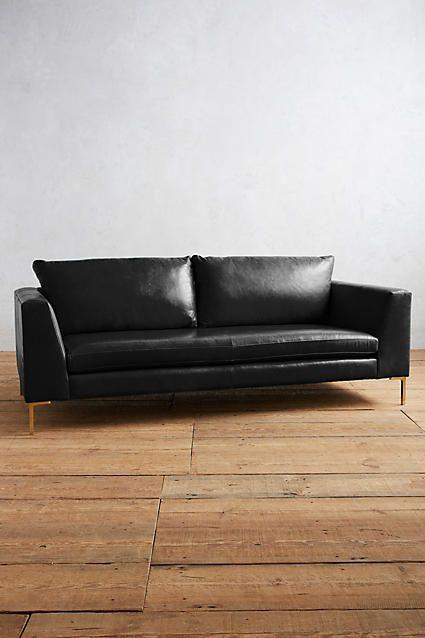 Anthropologie Premium Leather Edlyn Sofa #ANTHROPOLOGIE ...