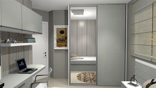 dorm domitorio solteiro dormitorio menino  - Galeria de Projetos Promob