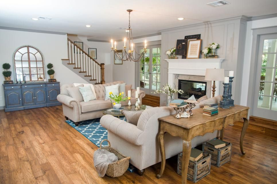 Fixer Upper A Big Fix For A House In The Woods Fixer Upper Living Room Rustic Chic Living Room Best Living Room Design