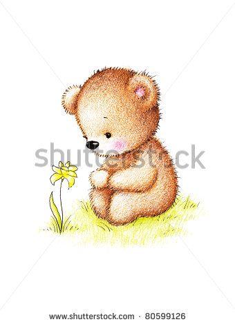 teddy bear drawing - Buscar con Google