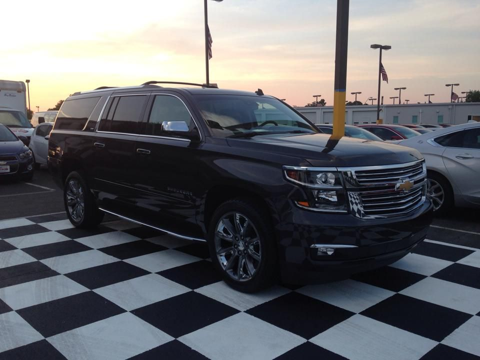 The 2015 Chevy Suburban At Dusk Jeff Gordon Chevrolet 228 S
