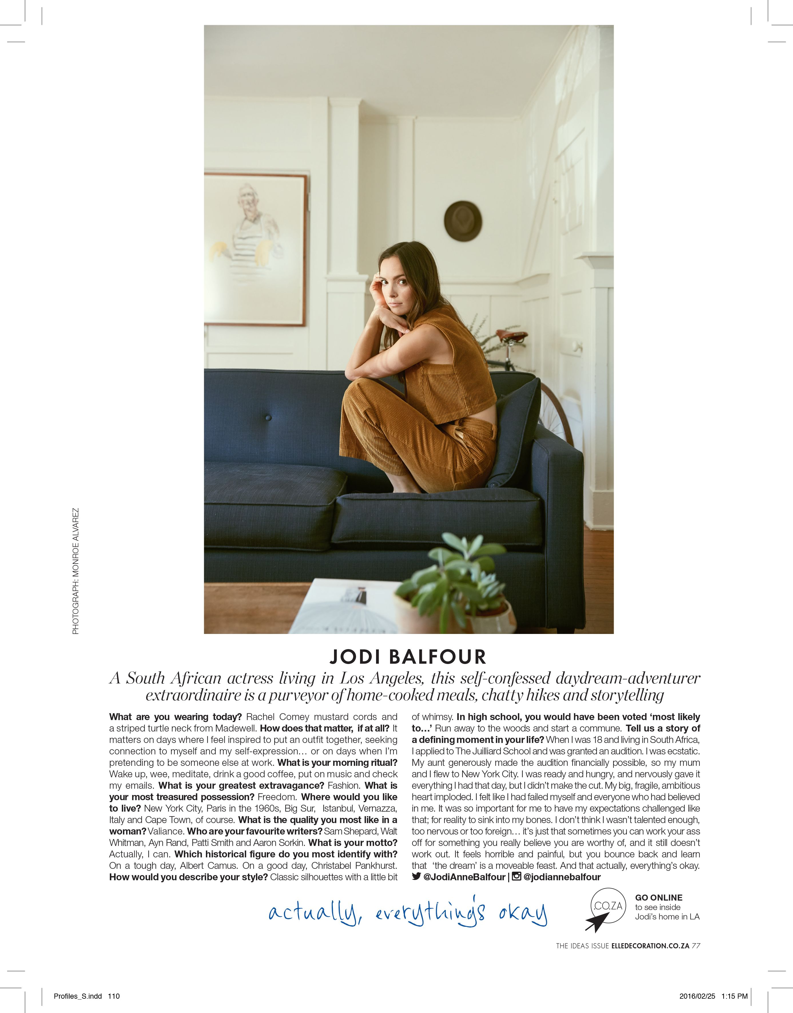 Elle Decoration South Africa Modern Muse Compiled By Bielle Bellingham For Elle