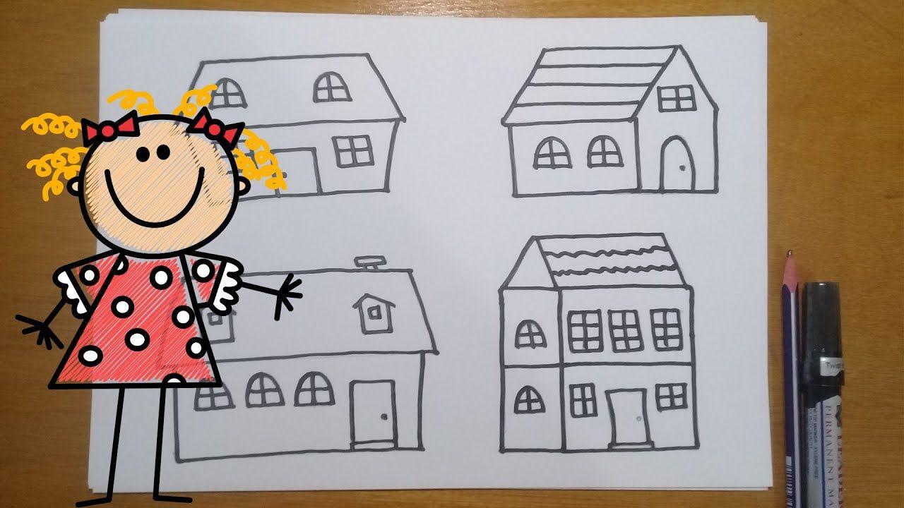 كيفية رسم المنازل والبيوت تعلم رسم المنزل والبيت بطريقة سهلة Art Comics Peanuts Comics