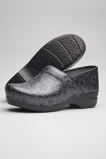 9dab1aefc619 The Dansko Black Medallion Patent from the Wide Pro XP collection ...