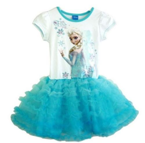 New-Fashion-Princess-Frozen-Queen-Elsa-Costume-Cosplay-Tulle-Girls-Dresses-1-5T