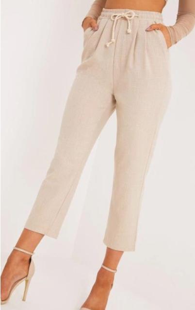21q148 Prettylittlething Pxb Bezowe Spodnie M 8145911566 Oficjalne Archiwum Allegro Casual Pants Casual Pants
