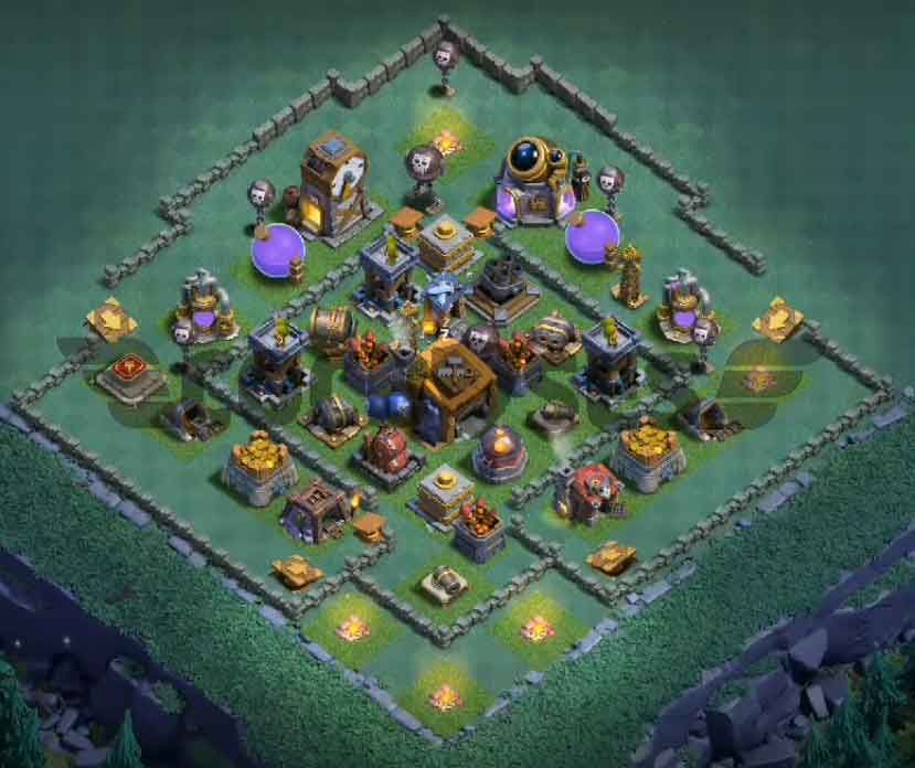 Coc Builder Base Th8 Best Defense 9