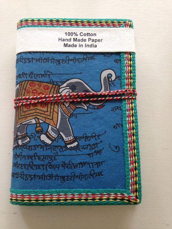 Indian Elephant Journal Art Journal A6 Notebook by IndianJournals
