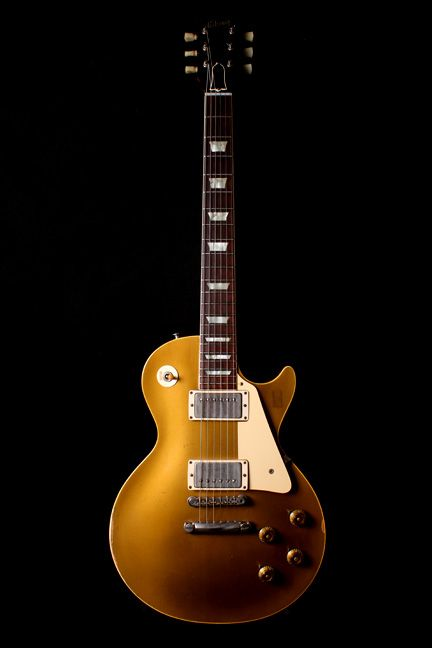 2a07bdadae 1957 Gibson Les Paul Gold Top with PAF pickups- This guitar is considered  one of the Holy Grails of guitar collecting. It is considered one of the  best ...
