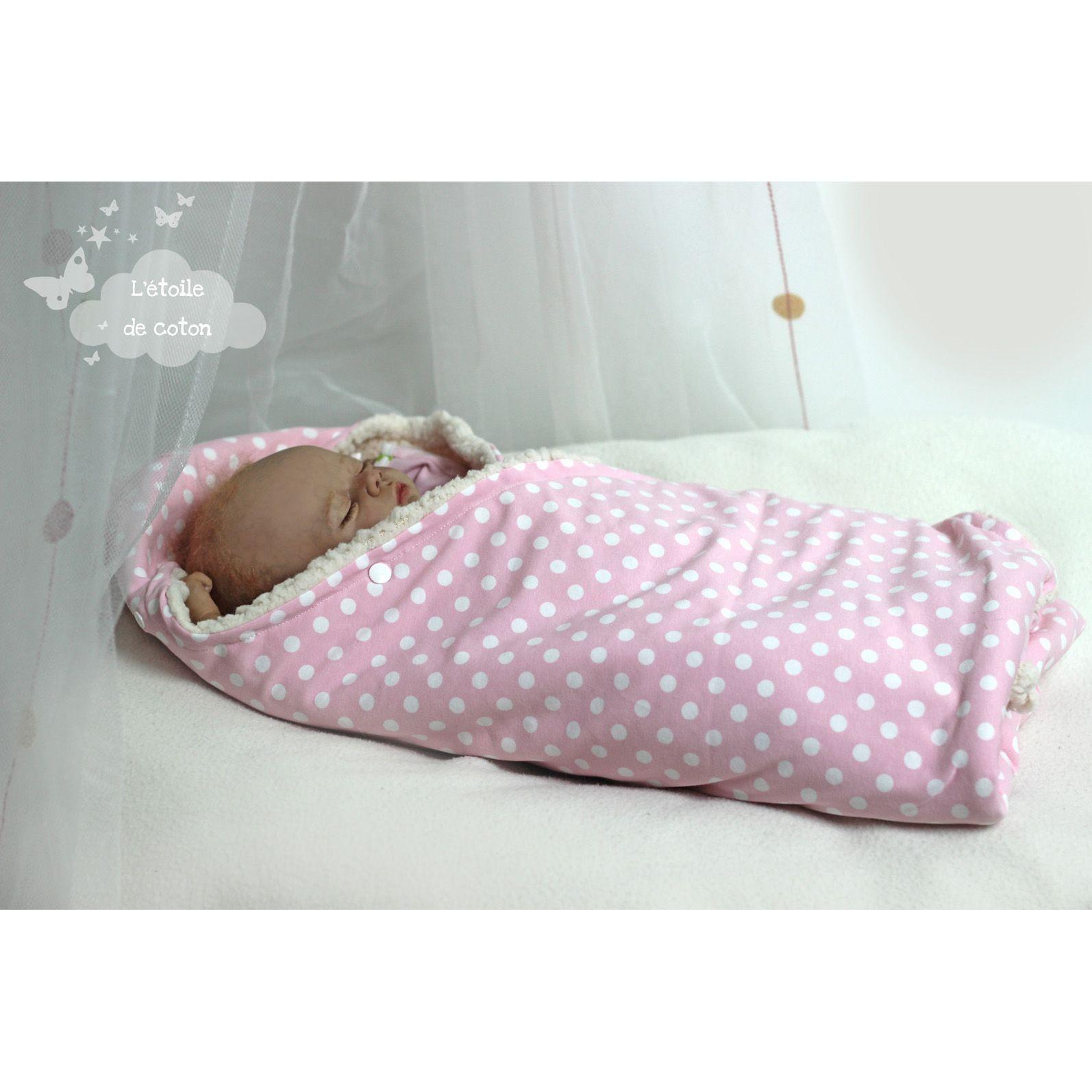Nid d'ange, Tuto gratuit et simple pour bébé - Idée Couture facile
