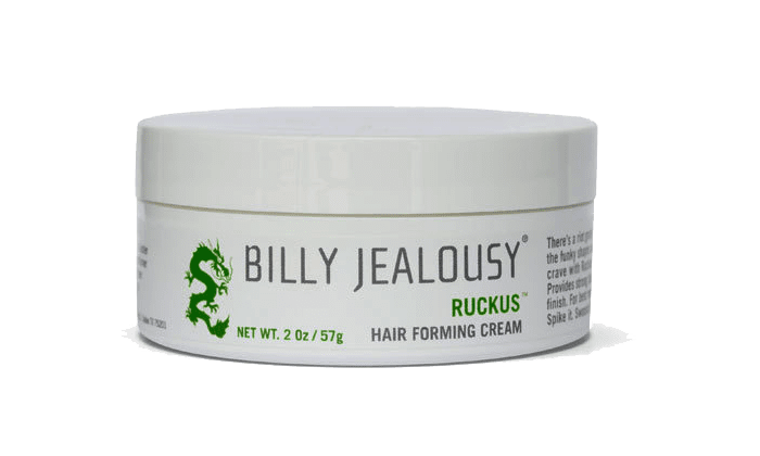 Best for Unruly Hair: Billy Jealousy Ruckus Hair Forming Cream (2 Oz)