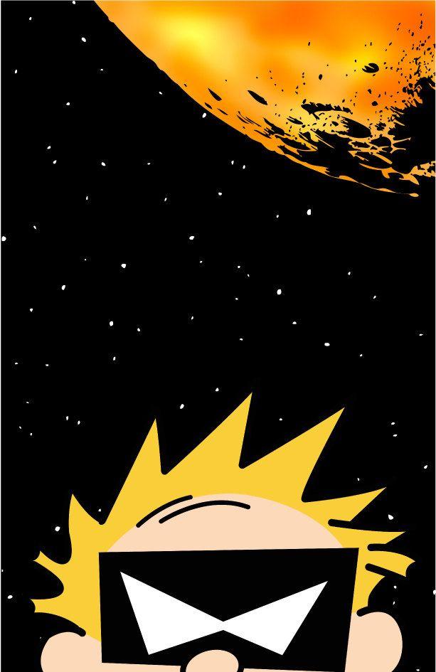 Spaceman Spiff 11 X 17 Print 14 00 Via Etsy Calvin And Hobbes Calvin And Hobbes Wallpaper Calvin Y Hobbes
