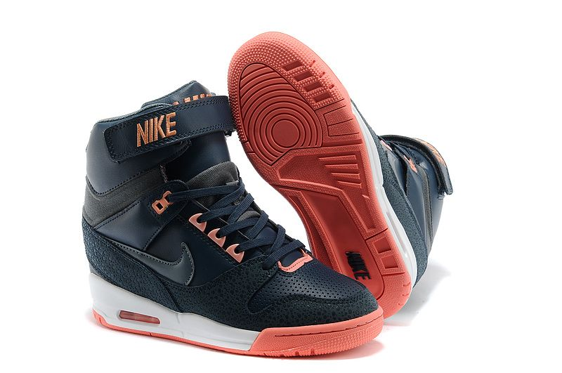 size 40 797ad 9e9de Free Shipping Only 69  599410-400 Nike Air Revolution Sky Hi Womens Dark  Obsidian