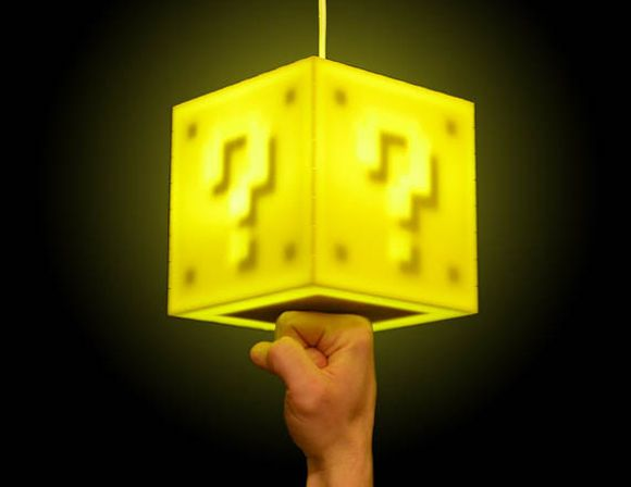 The Mario Question Block Lamp Is Perfect For Any Game Who Wishes