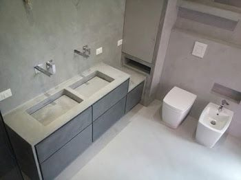 Bagno Microcemento ~ 11 best bagno in microcemento genova images on pinterest