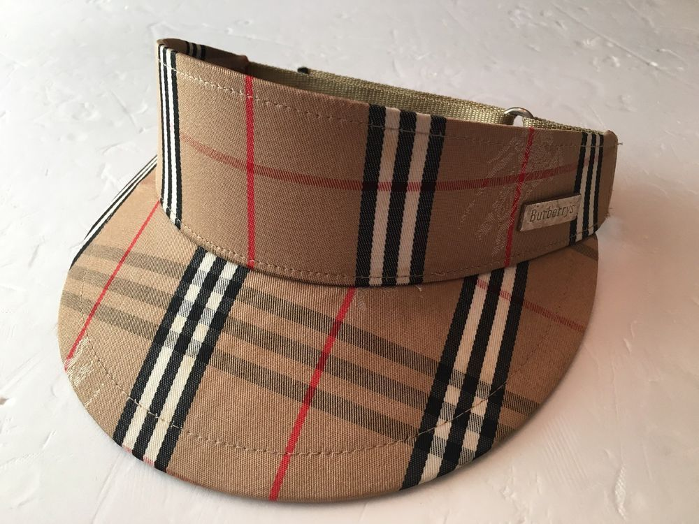 48aacafca00 Burberrys Burberry Nova Check Adjustable Sun Visor Hat  fashion  clothing   shoes  accessories  womensaccessories  hats (ebay link)