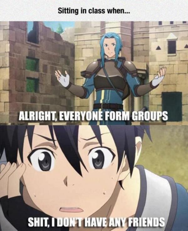 Sword Art Online Memes in 2020 Sword art online meme