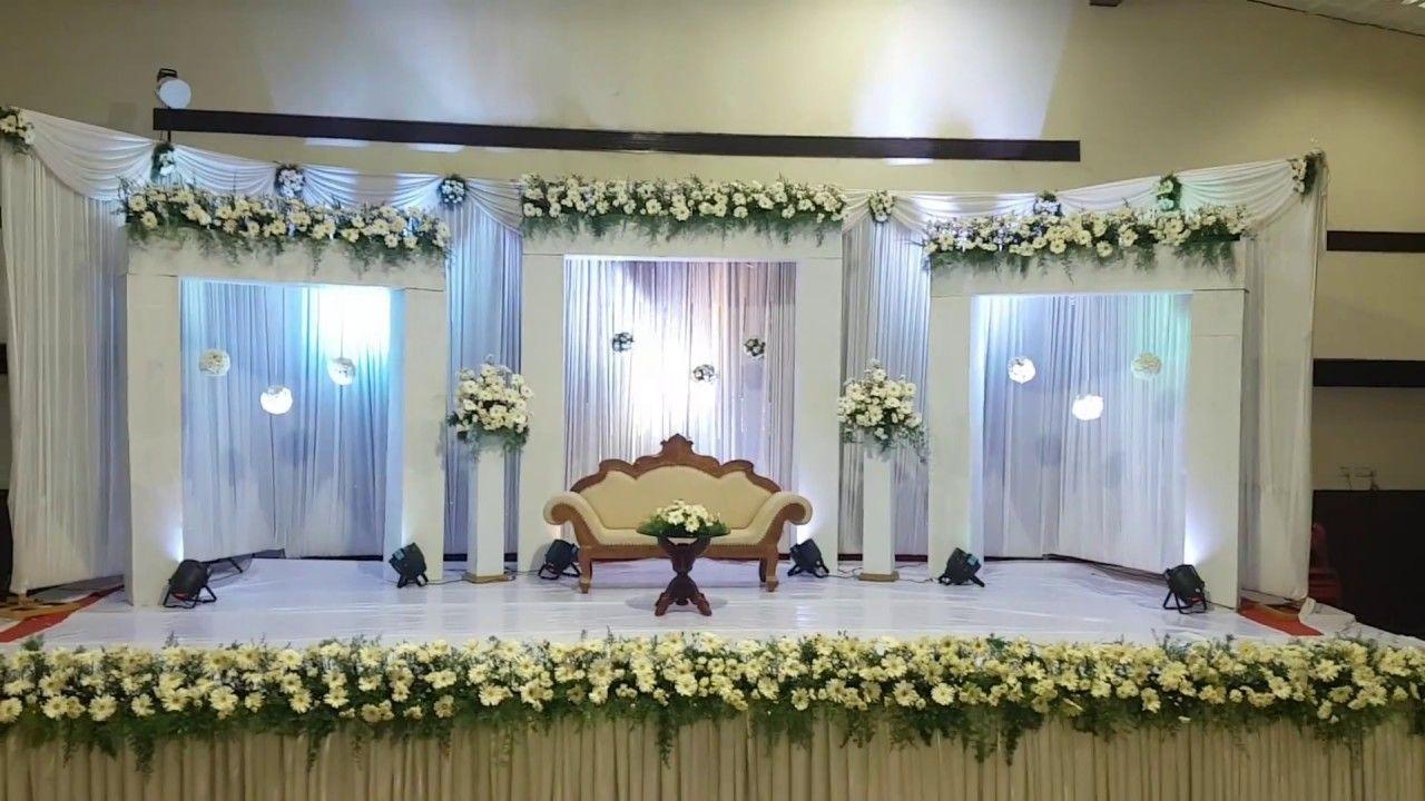 Simple Christian Wedding Decoration Planning Ideas And Inspiration Wedding Stage Decorations Wedding Stage Design Stage Decorations