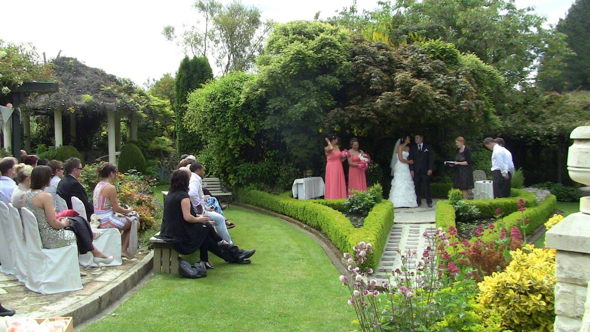 A November Wedding At Parkside Gardens, Oamaru, South Island NZ