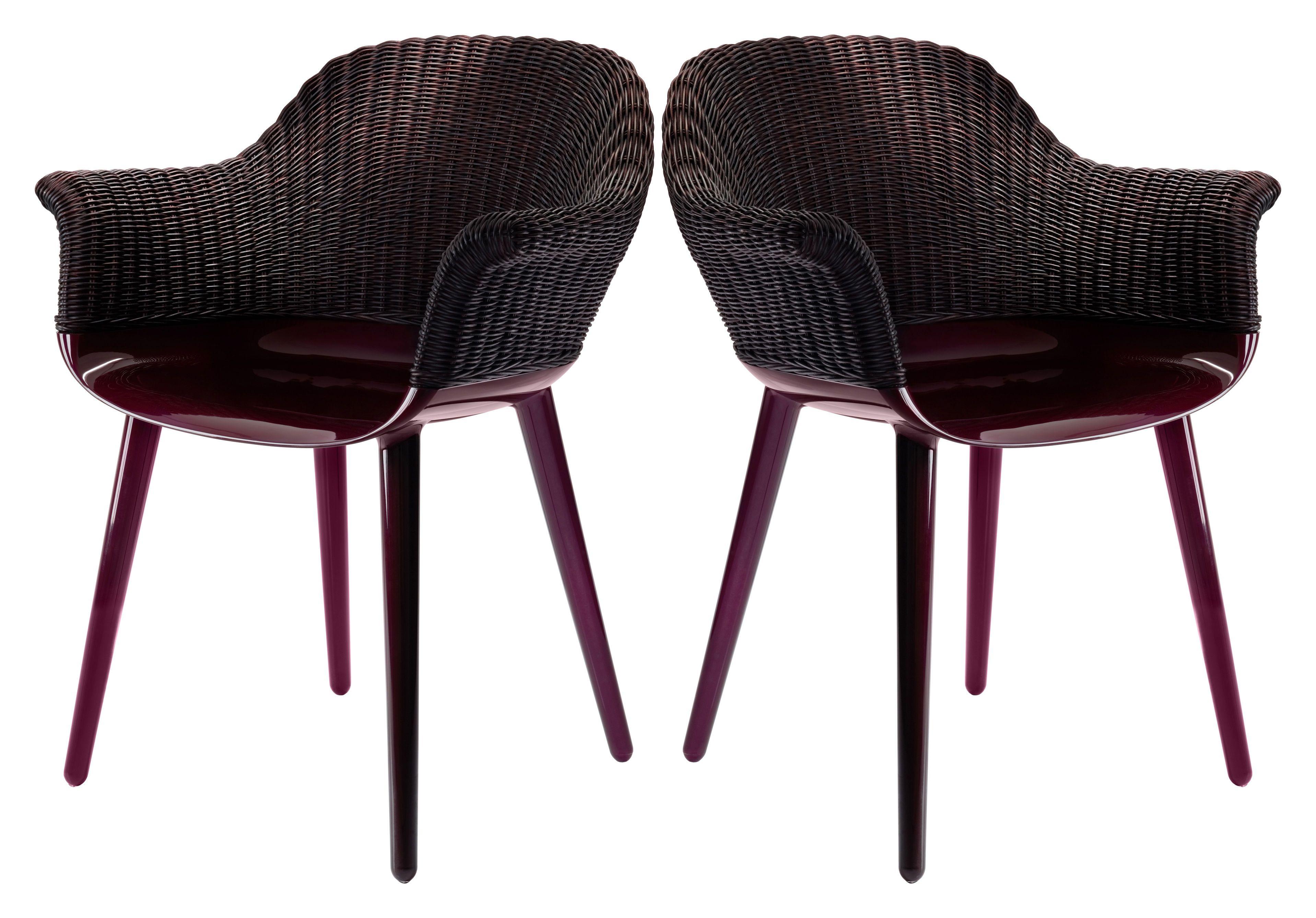 Cyborg Cozy Sessel 2er Set Geflochtene Ruckenlehne Limitierte Farb Auflage Magis Magis Furniture Fabric Marcel Wanders