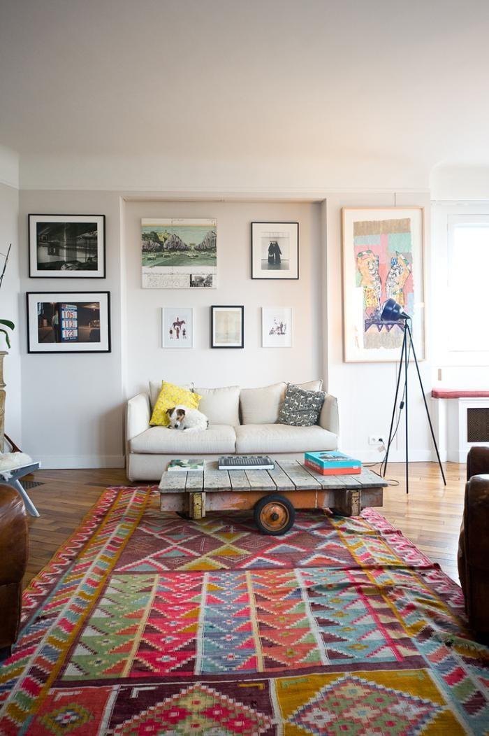 Kelims!!! Wohnzimmer Pinterest Retro teppiche, Patchwork - designer teppiche moderne einrichtung