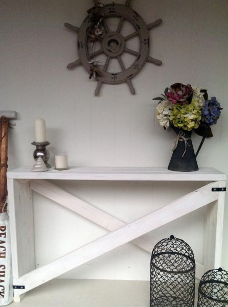 I Could Make It New 1 2 M Beach House Console Hall Table Sideboard In Limed White Tables Gumtree Australia Gold Coast White Kitchen Table Table Hall Table