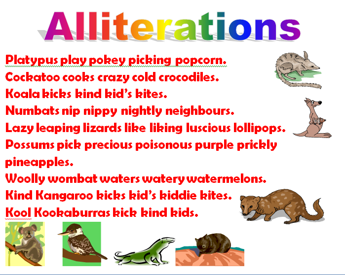 Alliteration Examples For Kids World Of Examples  World Of