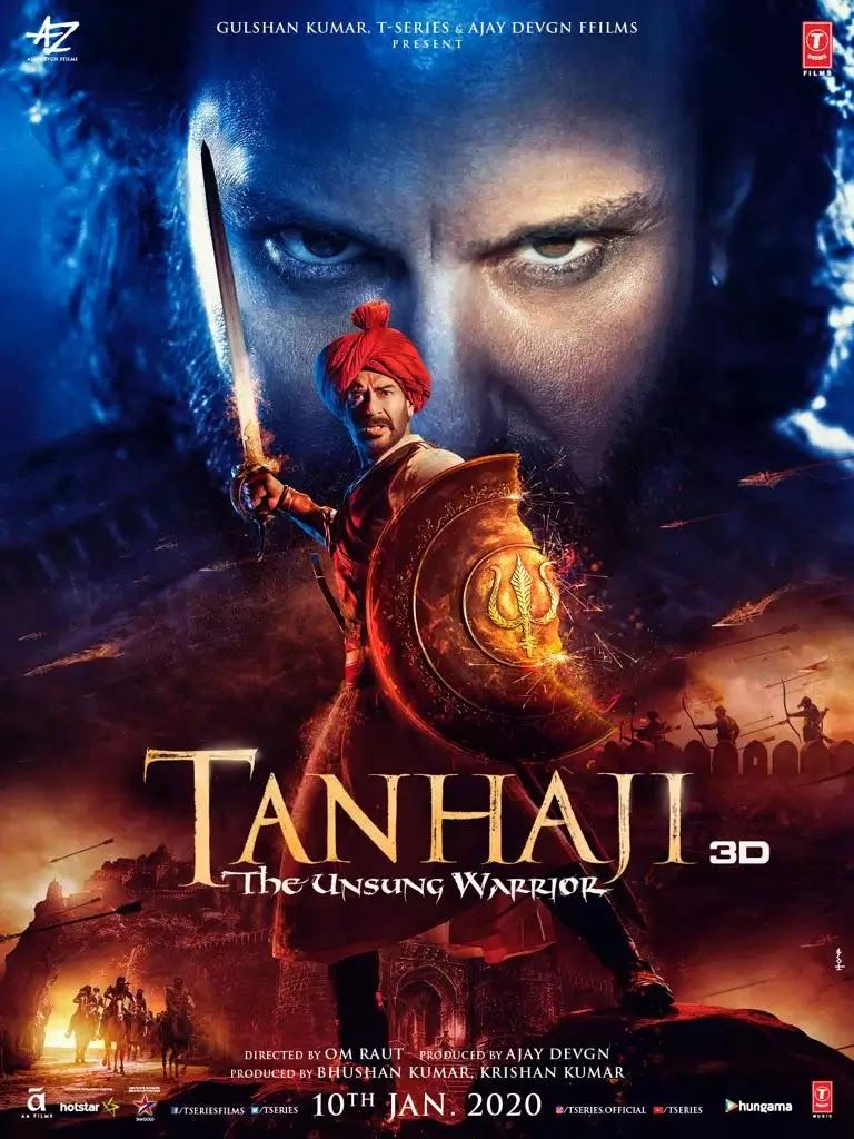 Tanhaji The Unsung Warrior, 2020 Google Drive, HD Hindi