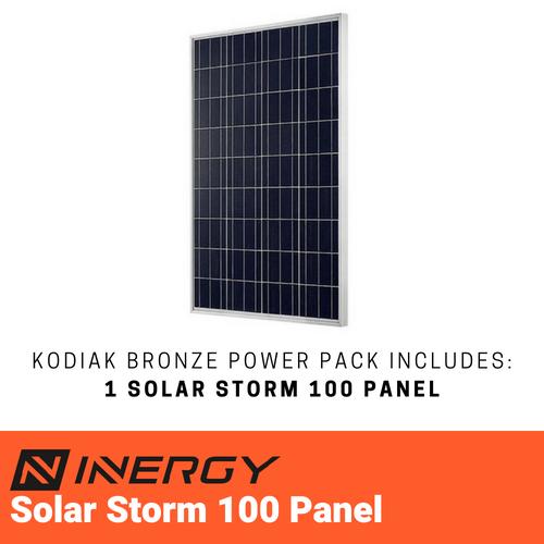 Inergy Kodiak Bronze Solar Generator Kit Tinyhousesupplyshop Com Solar Energy Panels Solar Heating Solar Energy