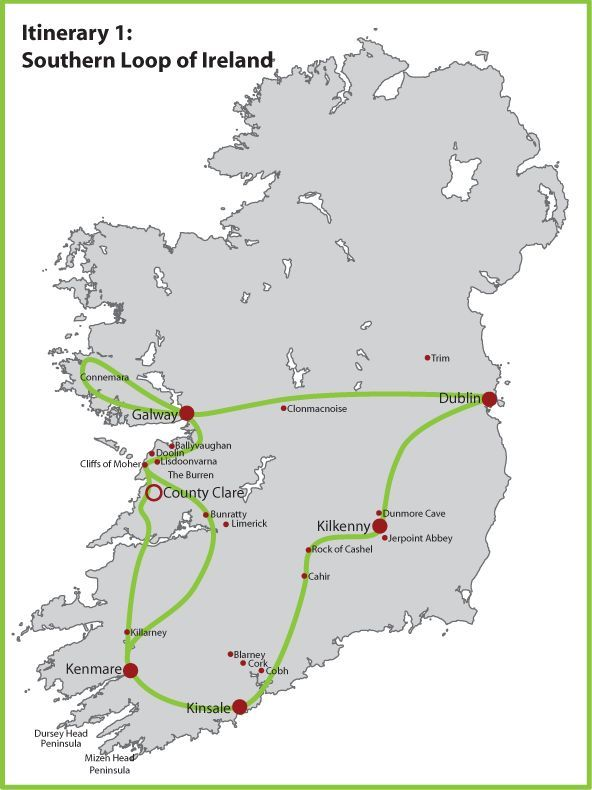 A Beginner S Guide To Planning An Ireland Itinerary Ireland Travel