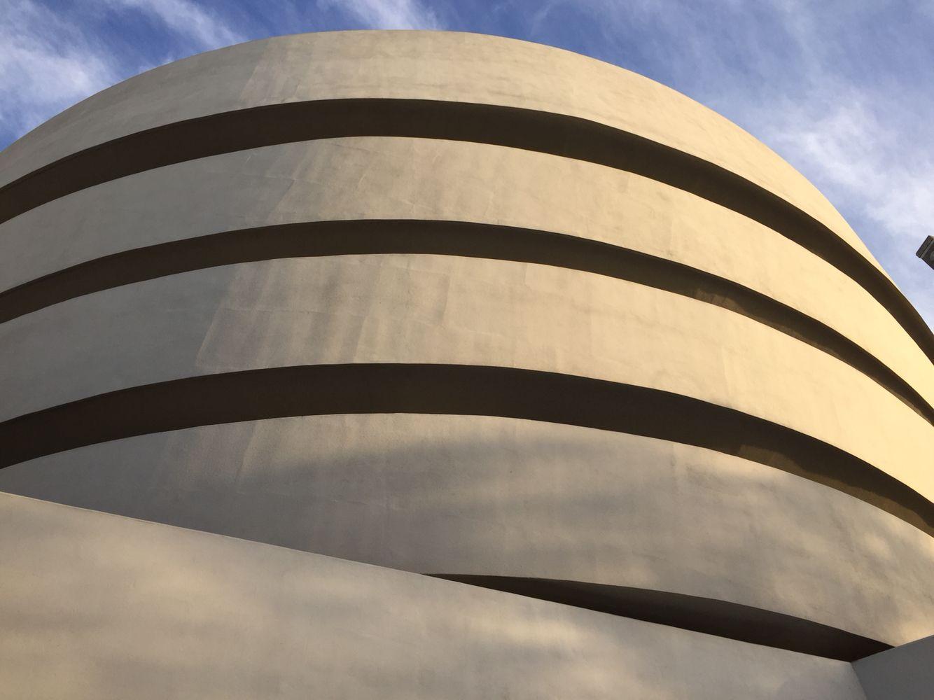 Guggenheim museum in New-York city