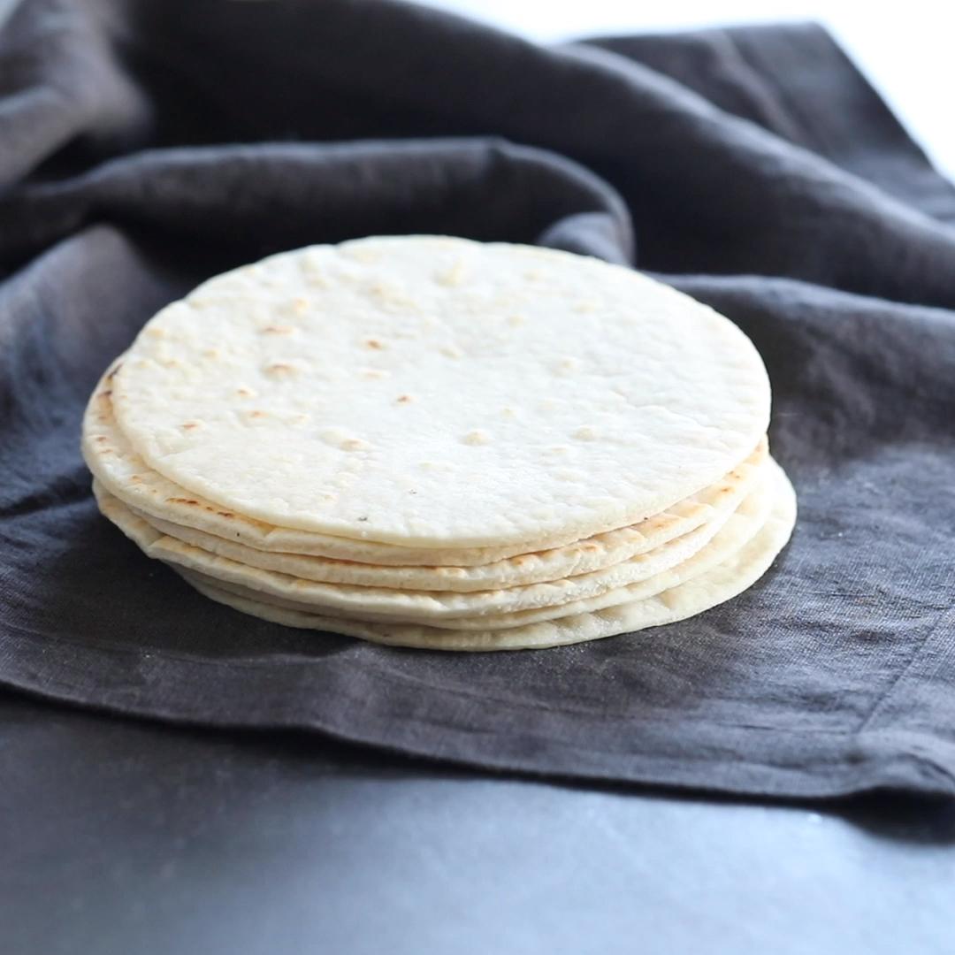 Photo of Soft Paleo Flour Tortillas