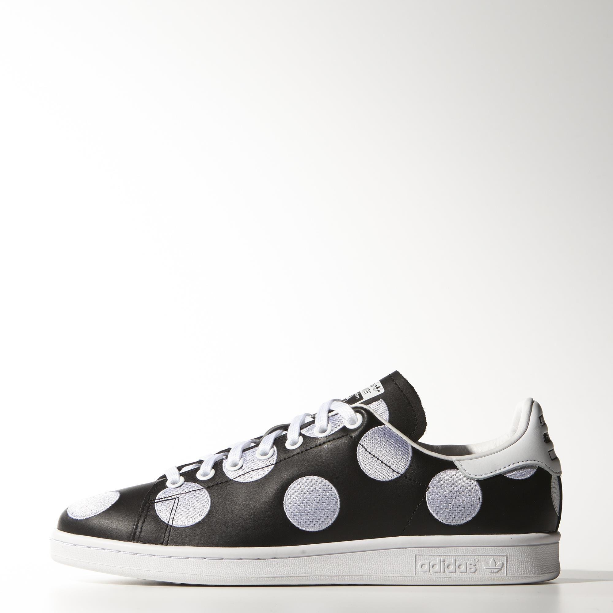 chaussures adidas à pois