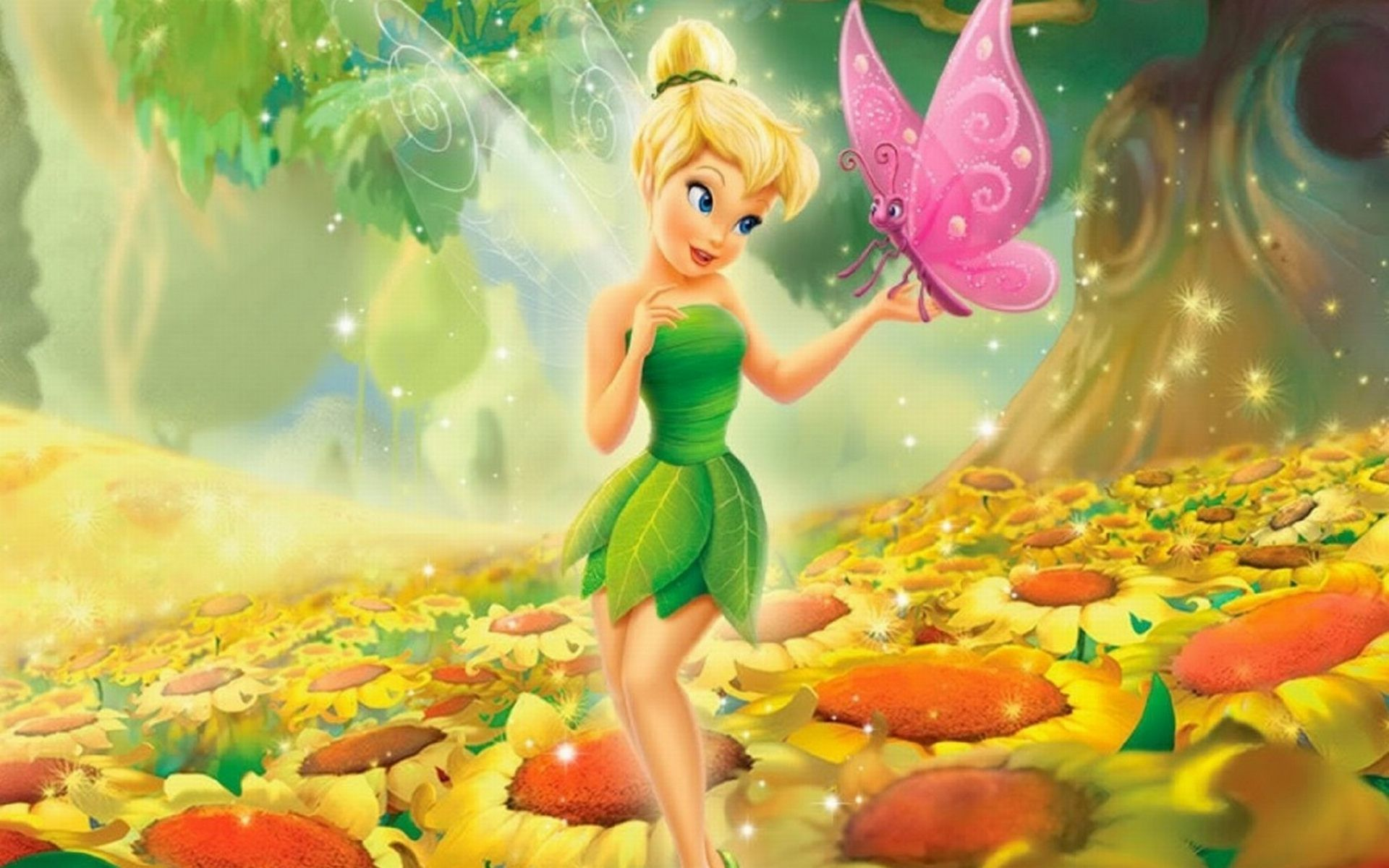 Tinkerbell Wallpaper for desktop and mobile in high resolution free