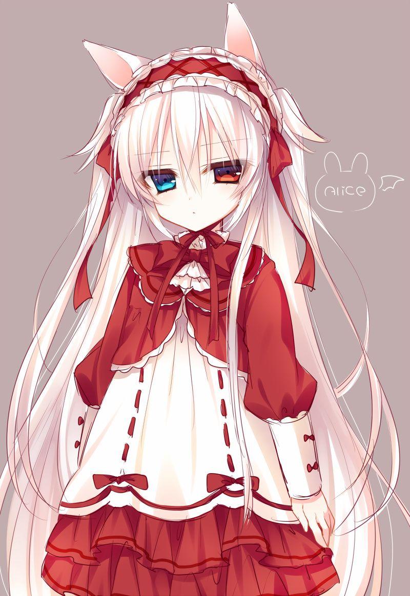 Anime Girl With Heterochromia Eyes