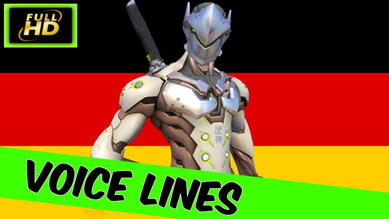 Genji Quotes Genji German Voice Lines  Overwatch Genji Voice Lines In German