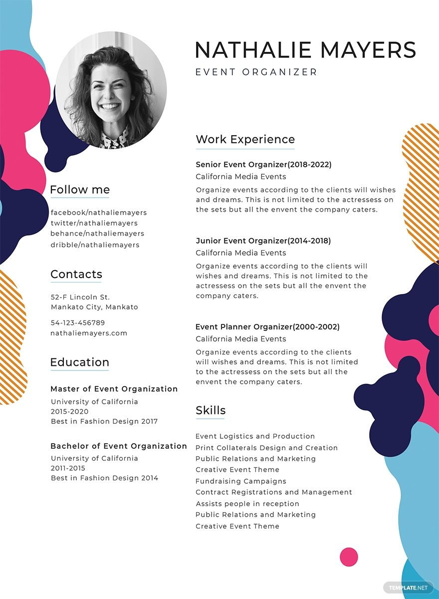 Free 31 Best Resume Templates For 2019 Creative resume