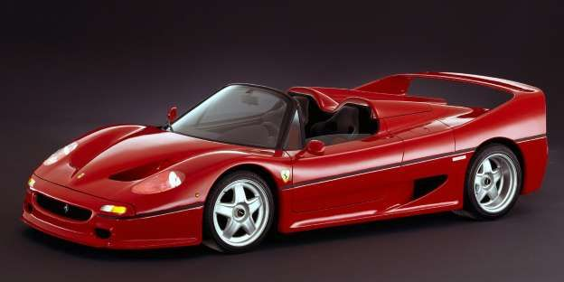 The F50 occupied that awkward spot between two of Ferrari's other legends: the F40 and the Enzo. How... - Provided by Road and Track