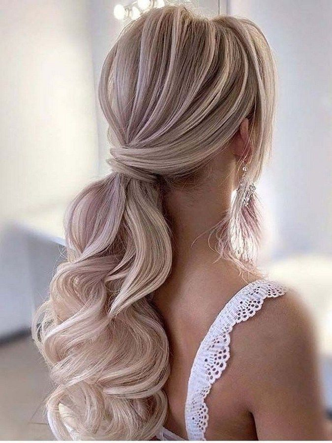 18++ Prom hair updo ponytail trends