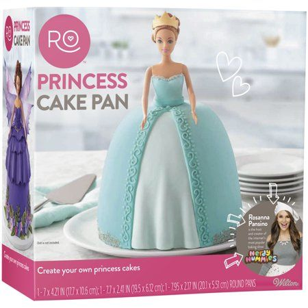 Rosanna Pansino by Wilton Princess Pan Baking Set, 3-Piece - Walmart.com