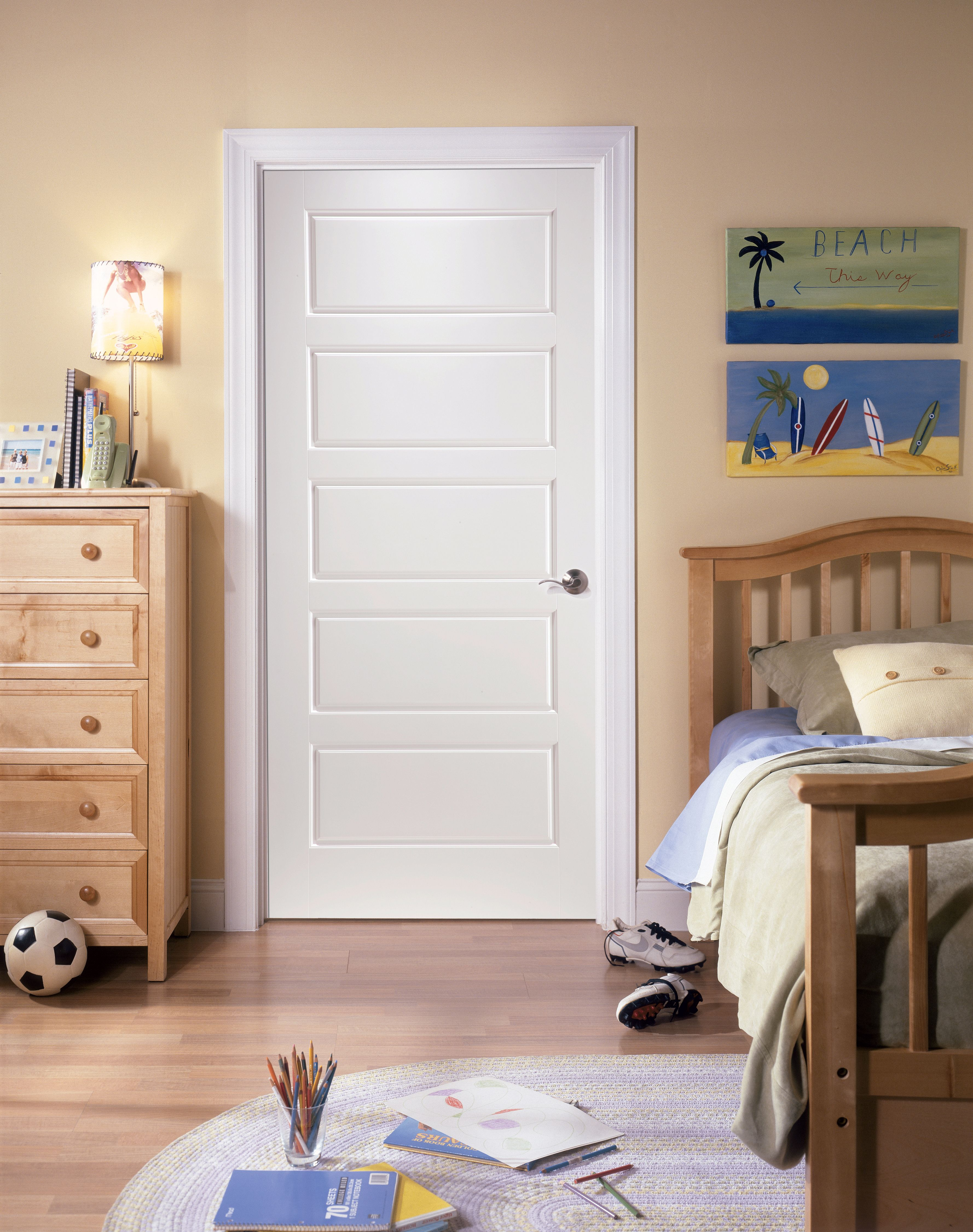 Appoint Your Growing Child S Bedroom With A Masonite Select Series Riverside Interior Doors Interior Masonite Interior Doors Shaker Style Interior Doors