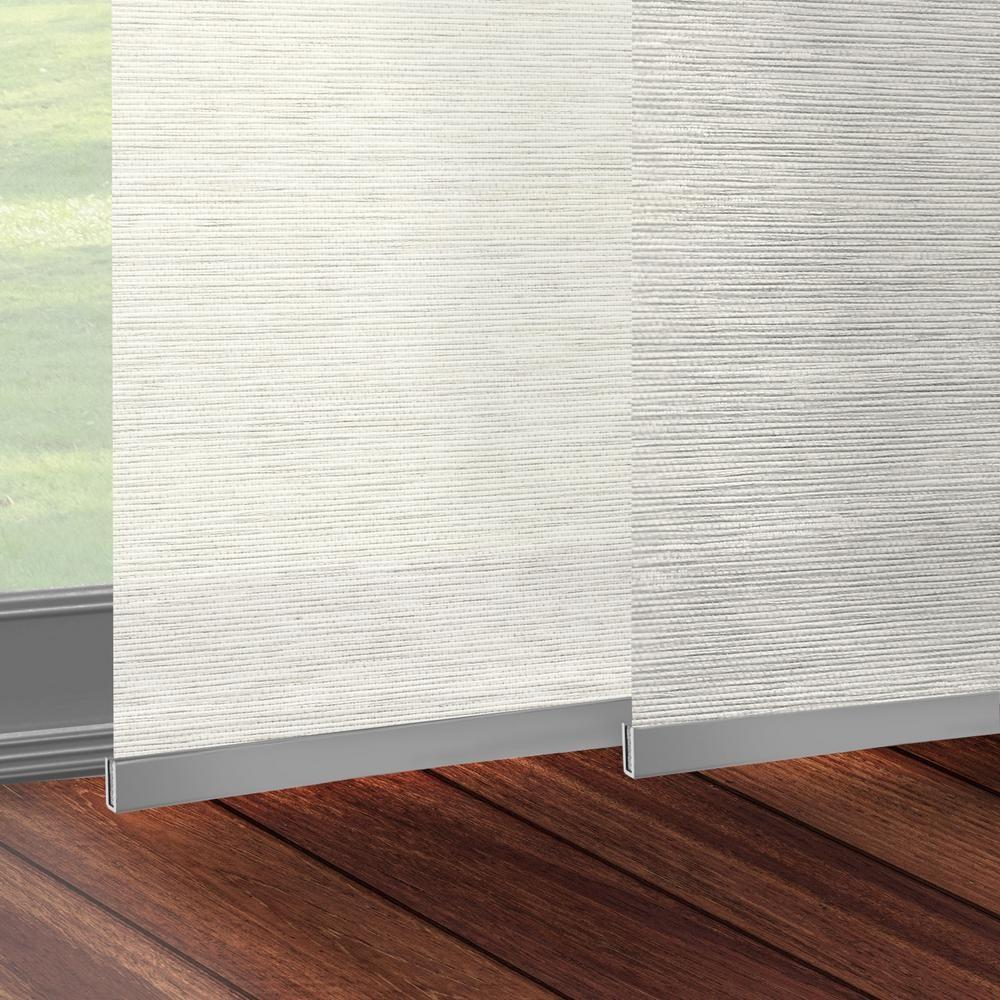 Chicology panel track blinds carlisle rice cordless light